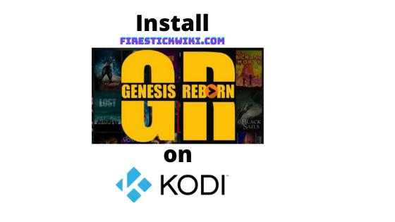 Genesis Reborn Addon on Kodi
