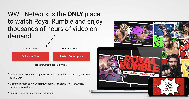 WWE on FireStick