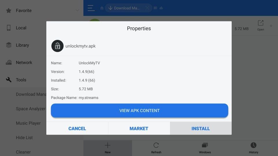 UnlockMyTV on FireStick