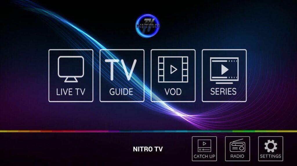 Nitro TV IPTV on FireStick