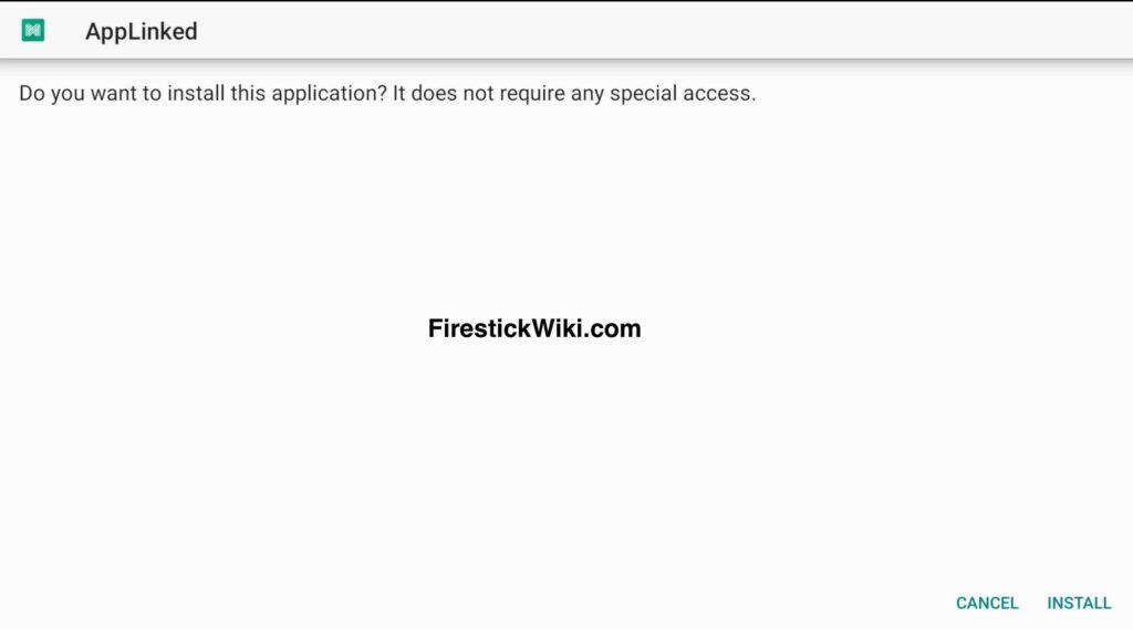 Applinked on Firestick