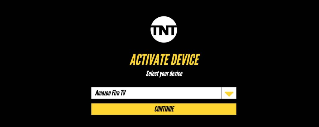 TNT on firestick